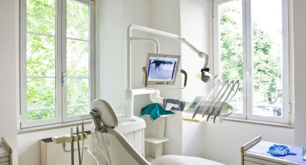 dental office painting project