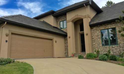 Exterior Stucco Painting Project