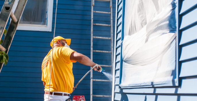 Check out our Aluminum Siding Painting