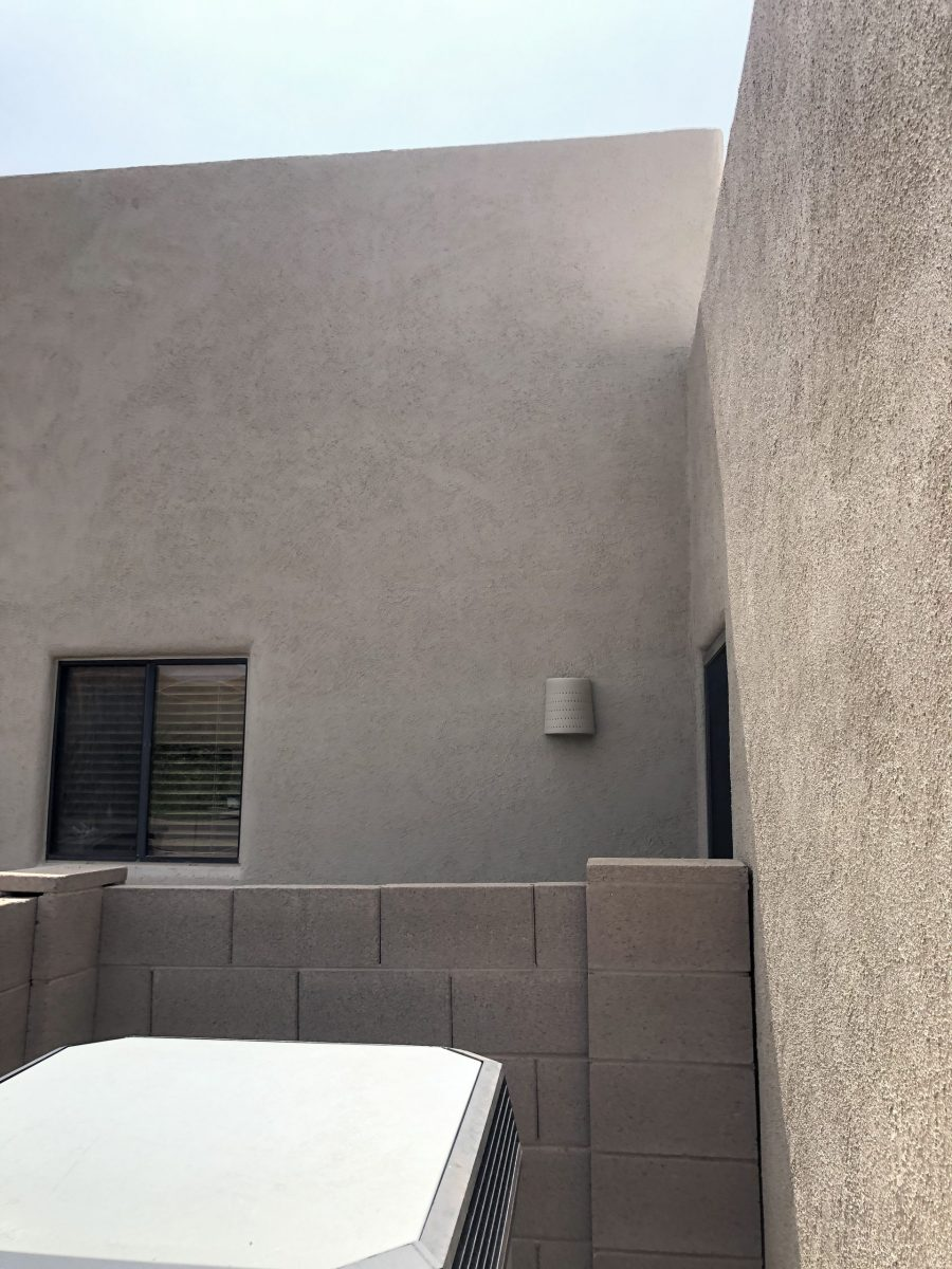 Completed Stucco Repair and Repainting in Vail