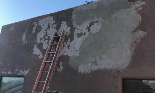 Exterior Stucco Before CertaPro Painters of Tucson