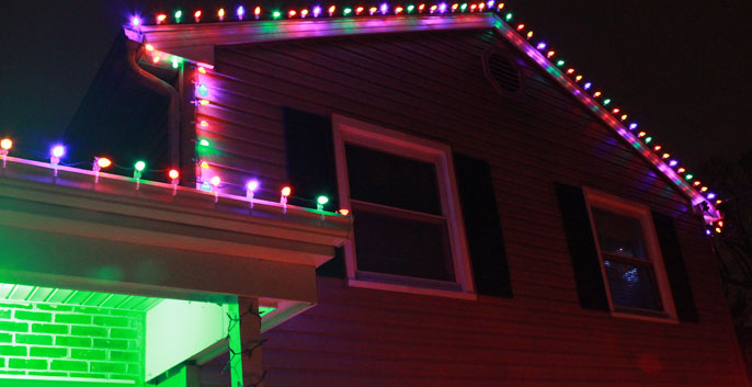 Check out our Christmas Light Installation