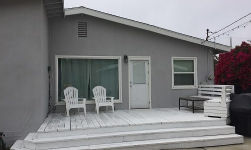 Deck Painting done just right