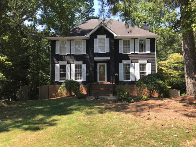 after photo of repainted home in marietta georgia