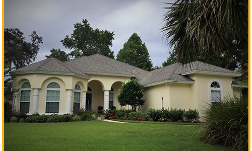 Exterior work in Fleming Island