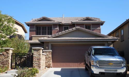 Exterior Painting in Red Rock