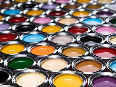 selecting paint